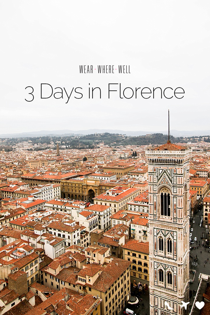 Tre Panche Florence Menu.Three Days In Florence Carrie Colbert