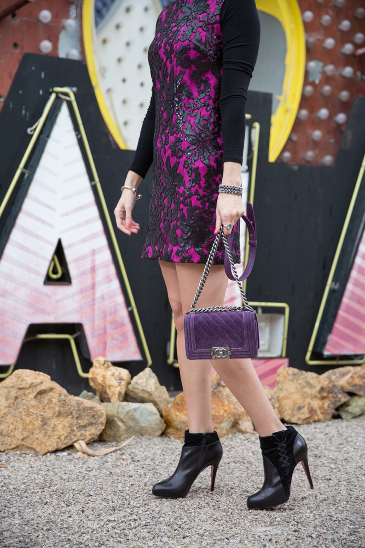 Dvf Embellished Lace Shift Dress Carrie Colbert