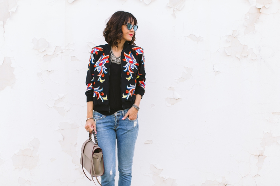 Wear Where Well Alice and Olivia Bomber Jacket_0002
