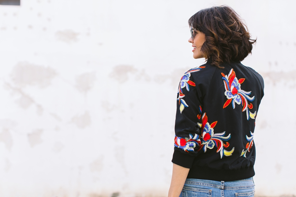 Wear Where Well Alice and Olivia Bomber Jacket_0013