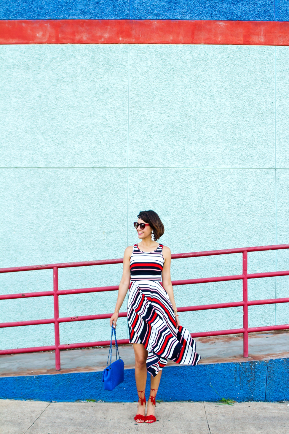 Wear Where Well ModCloth Workwear Red White Blue dress_0015
