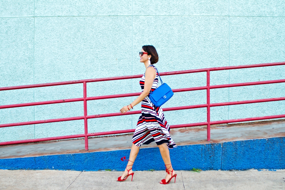Wear Where Well ModCloth Workwear Red White Blue dress_0016