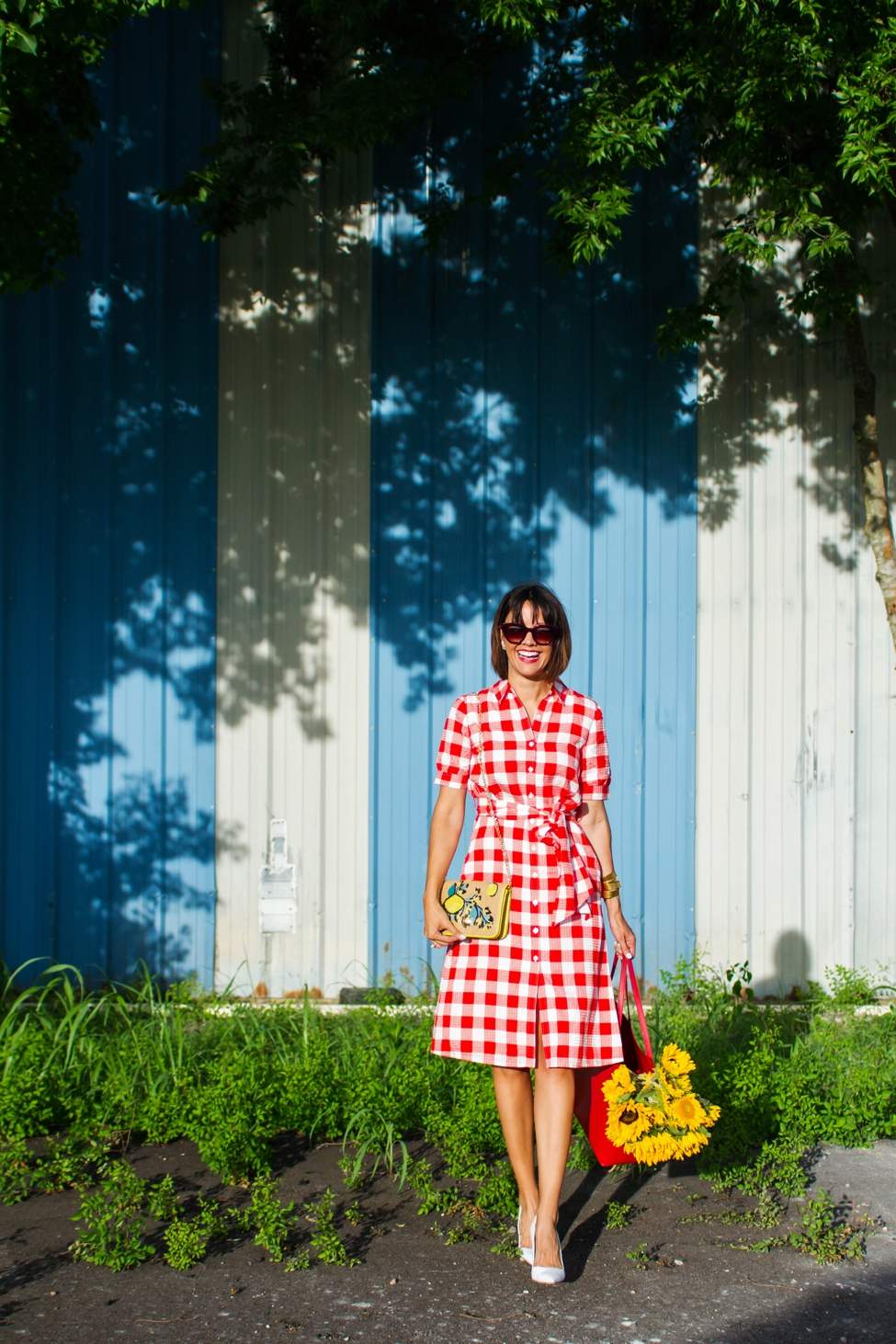 Wear Where Well Draper James gingham dress_0006