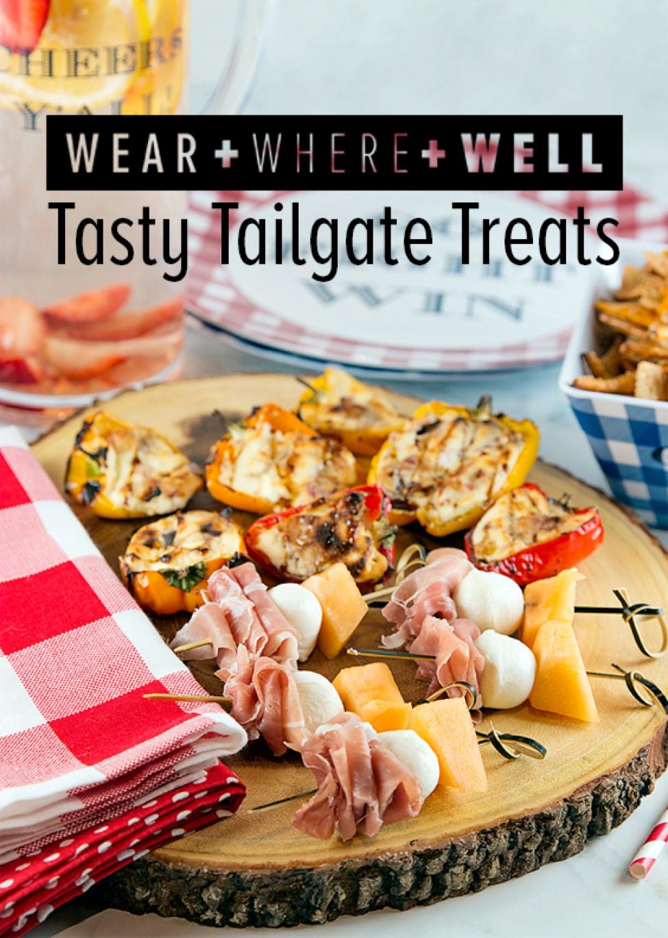 Wear Where Well Football Tailgating Recipes with Draper James_0001