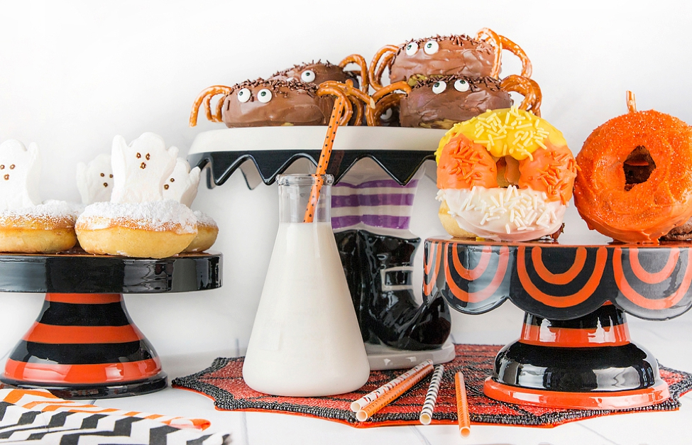 Halloween Donuts: How to Make 4 Spooky Treats! | Wear + Where + Well