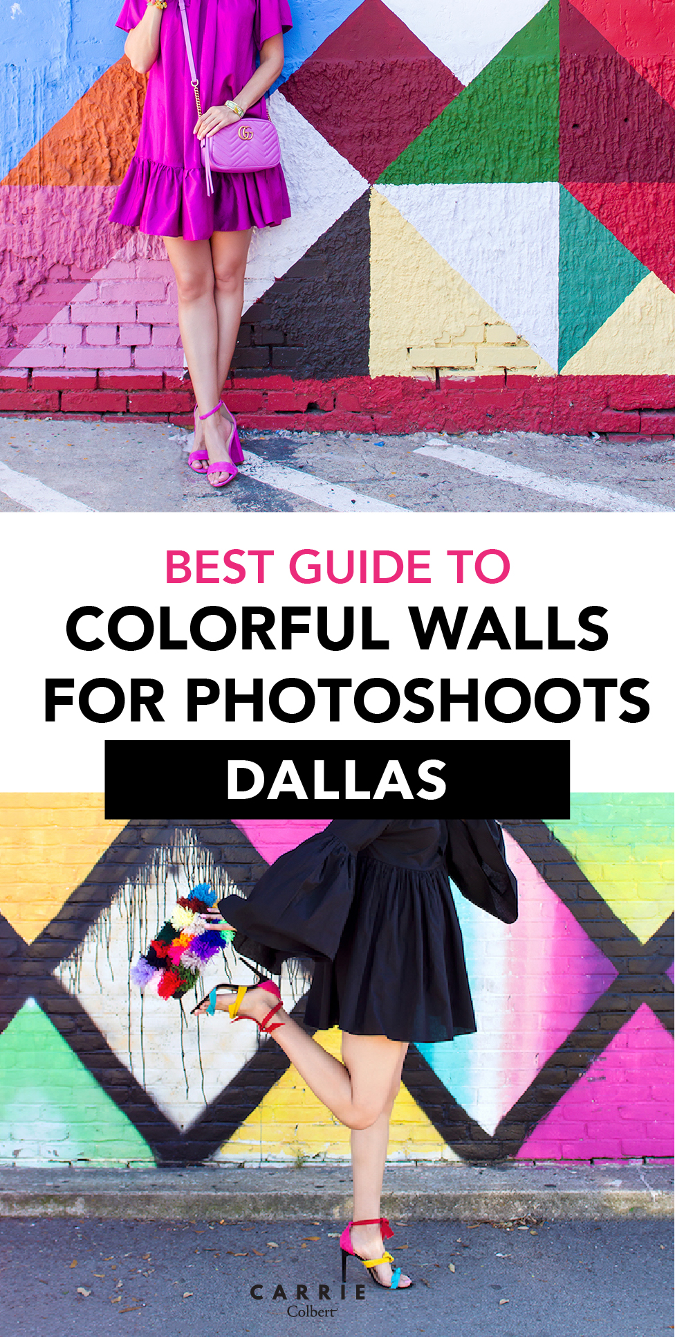 your guide to the best colorful walls in dallas carrie colbert