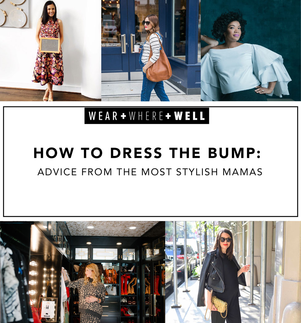 2e557957f2d4b How to Dress the Bump : Advice From 5 Stylish Mamas - Carrie Colbert