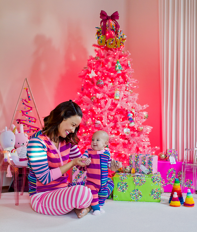 How to Decorate for Your Baby's First Christmas
