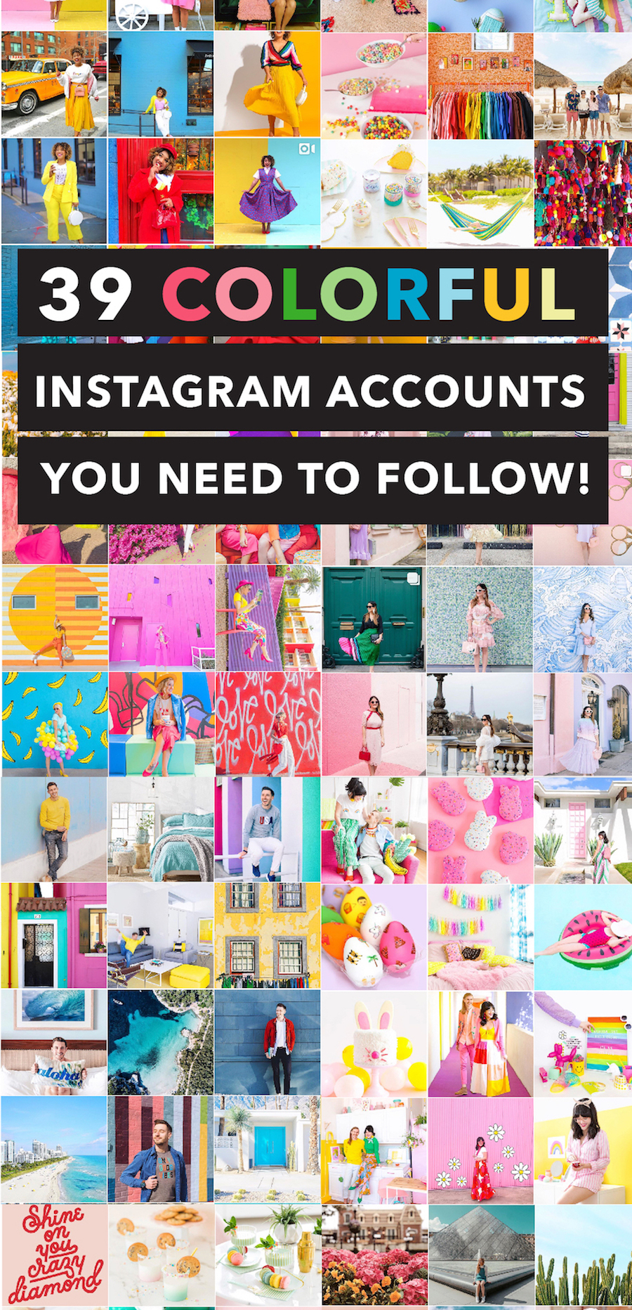 The 39 Colorful Instagram Accounts You Need to Follow Immediately