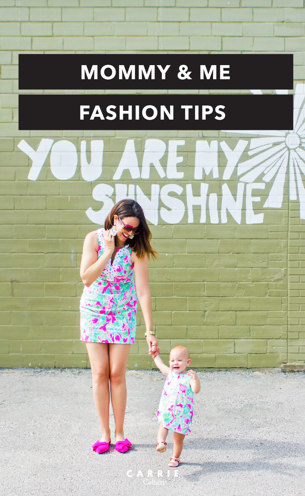 a13437bc6147 8 Helpful Hints for Stylish Mommy and Me Dressing - Carrie Colbert