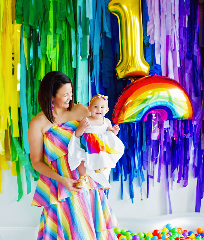 Everything You Need To Know To Host A Rainbow Themed