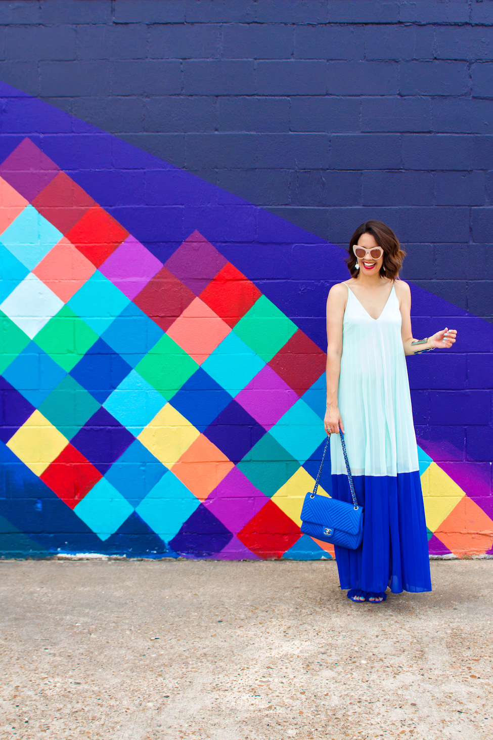 How To Wear Cobalt Blue Carrie Colbert