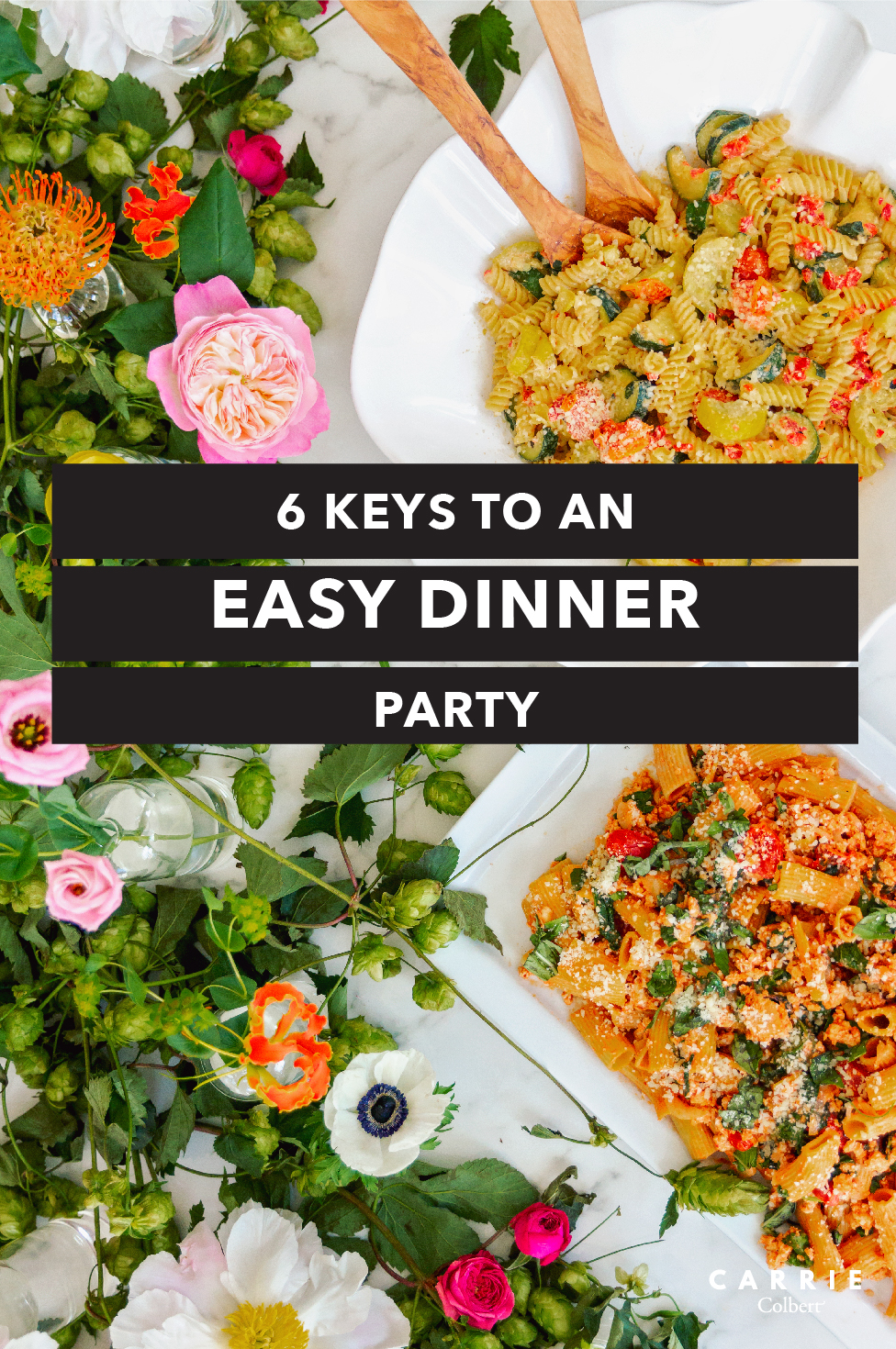 6 keys to an easy dinner party with plated carrie colbert